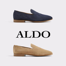 ALDO Straight Tip Loafers Suede Plain Loafers & Slip-ons