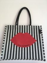 Lulu Guinness Casual Style Collaboration A4 Shoppers