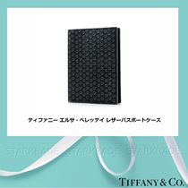 Tiffany & Co Unisex Blended Fabrics Passport Cases
