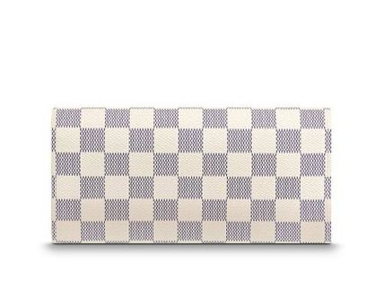 Louis Vuitton Long Wallets Other Check Patterns Canvas Blended Fabrics Long Wallets 4