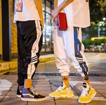 Street Style Plain Oversized Joggers & Sweatpants