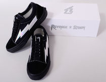 REVENGE STORM Casual Style Unisex Street Style Low-Top Sneakers