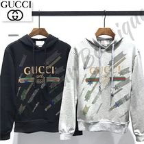 GUCCI Star Long Sleeves Cotton Medium With Jewels Oversized