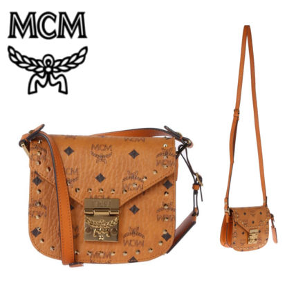 Monoglam Casual Style Studded Shoulder Bags