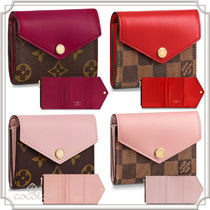 Louis Vuitton [Louis Vuitton] PORTEFEUILLE ZOE BICOLOR COMPACT WALLET