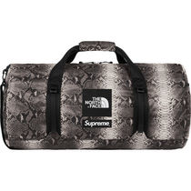 Supreme Street Style Collaboration Other Animal Patterns Boston Bags