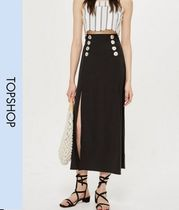 TOPSHOP Casual Style Long Maxi Skirts