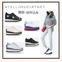 Stella McCartney ELYSE Star Platform Casual Style Faux Fur Plain