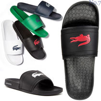 LACOSTE Street Style Plain Other Animal Patterns Loafers & Slip-ons