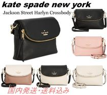 kate spade new york Casual Style Plain Leather Shoulder Bags