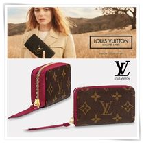 Louis Vuitton Monoglam Blended Fabrics Coin Purses
