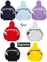Supreme Unisex Street Style Collaboration Long Sleeves Cotton