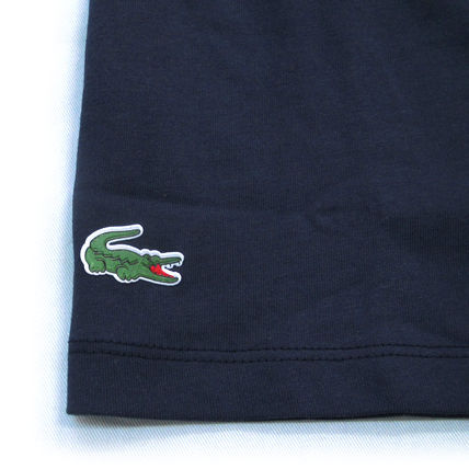 LACOSTE Polos Pullovers Plain Cotton Short Sleeves Polos 8
