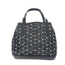Jimmy Choo Star Casual Style Studded Bag in Bag Leather Totes