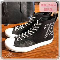 148019a50936 Louis Vuitton 2018-19AW 18AW MONOGRAM CANVAS TATTOO SNEAKER BOOT BLACK NOIR  1A4BEB by Cocolon - BUYMA