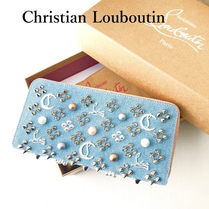 Studded Long Wallets