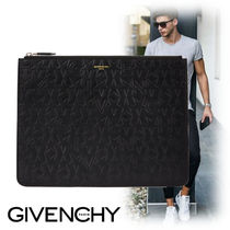 GIVENCHY Star Street Style Bag in Bag Leather Clutches