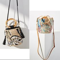 Anthropologie Casual Style Purses Straw Bags