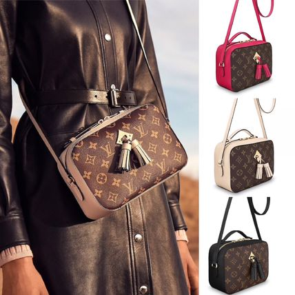 Monoglam 2WAY Leather Shoulder Bags