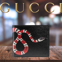 GUCCI Blended Fabrics Street Style Plain Other Animal Patterns