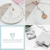 HURLEY BURLEY Costume Jewelry Casual Style Unisex Silver 18K Gold Anklets