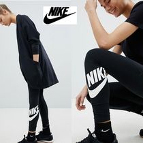 Nike Casual Style Cotton Long Skinny Pants