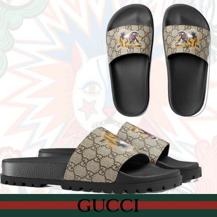 8310fdb6d662 GUCCI 2018 SS Shower Shoes Shower Sandals (456234 K5Y00 8919) by ...