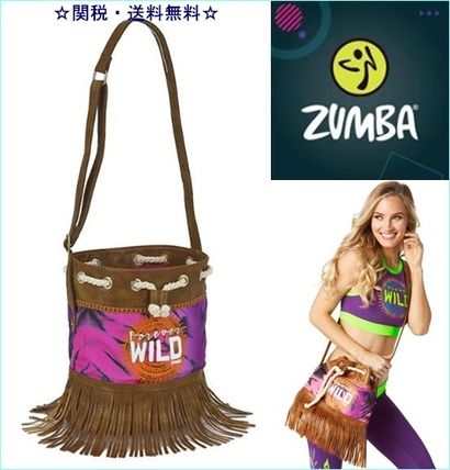 Casual Style Fringes Shoulder Bags
