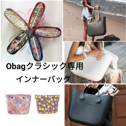 Flower Patterns Casual Style Bag in Bag Totes