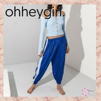 Oh Hey Girl Casual Style Unisex Street Style Long Sarouel Pants