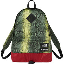 Supreme Zebra Patterns Nylon Street Style Collaboration Backpacks
