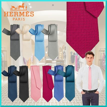 Other Check Patterns Silk Ties