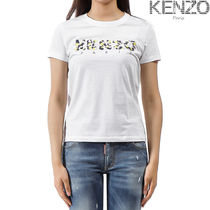 KENZO Street Style Cotton Medium Short Sleeves T-Shirts