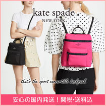 kate spade new york Casual Style Nylon 2WAY Plain Backpacks