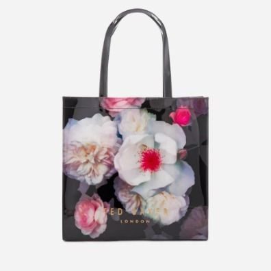 Flower Patterns A4 PVC Clothing Elegant Style Totes