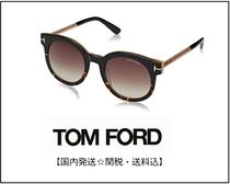 TOM FORD Street Style Round Sunglasses