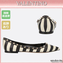 VALENTINO Leather Ballet Shoes