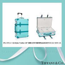 Tiffany & Co Blended Fabrics Collaboration 3-5 Days Hard Type Carry-on