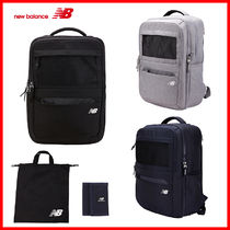 New Balance Casual Style Unisex Plain Backpacks