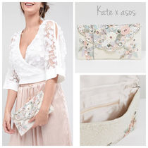 ASOS Flower Patterns 2WAY Chain Party Style Clutches