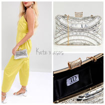 ASOS 2WAY Chain Party Style With Jewels Clutches