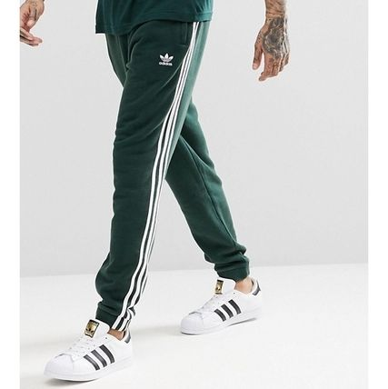 0abbf4d46878 ... adidas Joggers   Sweatpants Stripes Sweat Street Style Plain Joggers    Sweatpants ...