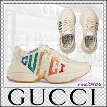 GUCCI Casual Style Low-Top Sneakers