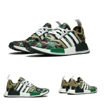 adidas NMD Camouflage Street Style Sneakers
