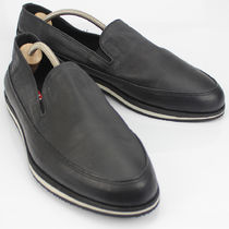 PRADA Leather Loafers & Slip-ons