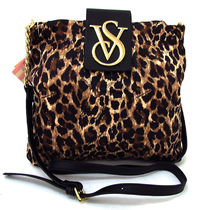 Victoria's secret Leopard Patterns Casual Style Nylon Totes