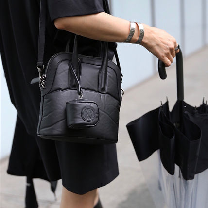 Casual Style Street Style Plain Handbags