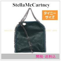 Stella McCartney FALABELLA Faux Fur 2WAY Chain Plain Shoulder Bags