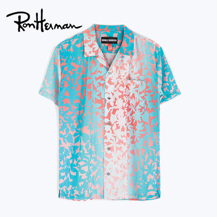 Ron Herman Shirts Flower Patterns Tropical Patterns Unisex Cotton