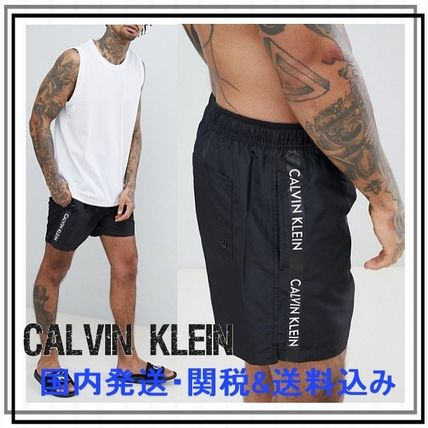 Calvin Klein More Beachwear Plain Beachwear
